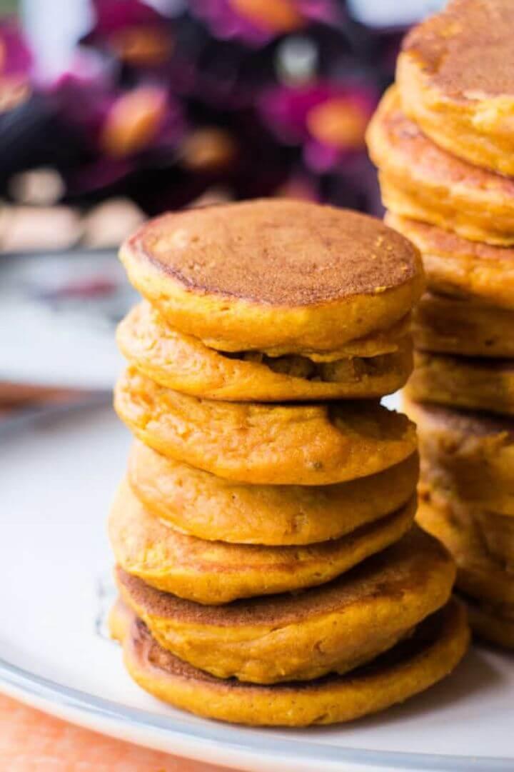 Pumpkin Toddler Pancakes Recipe