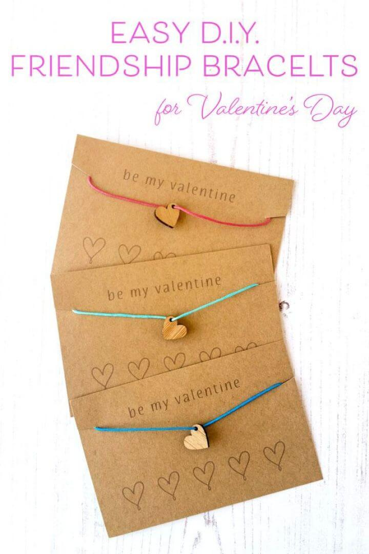 Quick And Easy Friendship Bracelets For Valentines Day