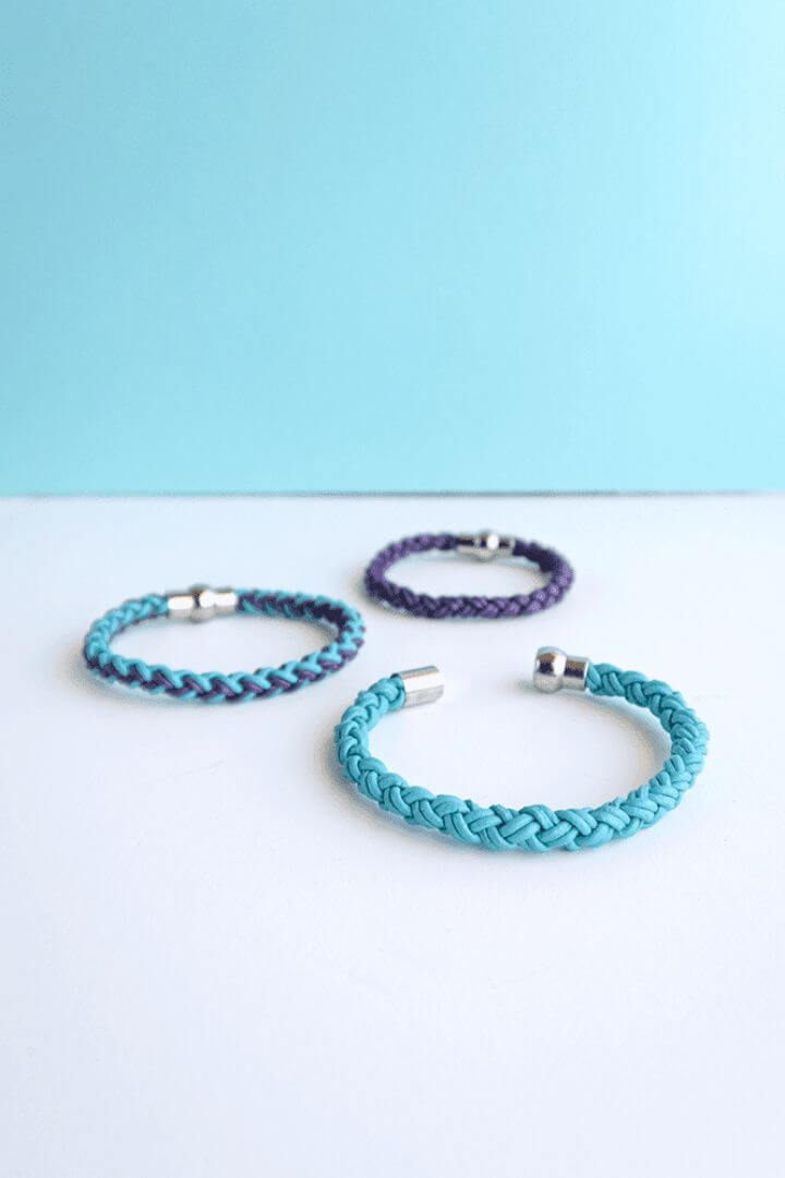 Round Braid Leather Friendship Bracelets