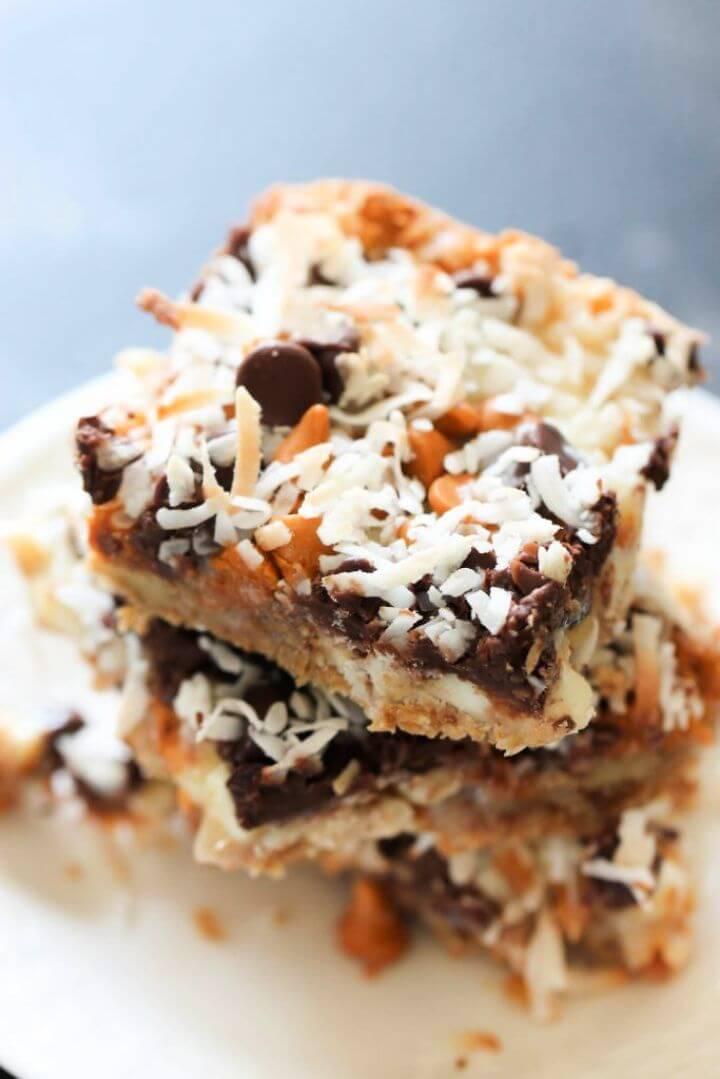 Seven Layer Magic Cookie Bars 1