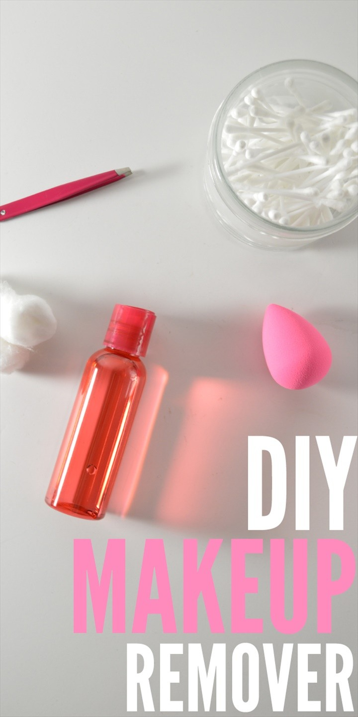 Simple 3 Ingredient DIY Makeup Remover