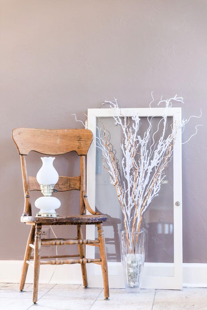 Simple DIY Winter Decor with Vases
