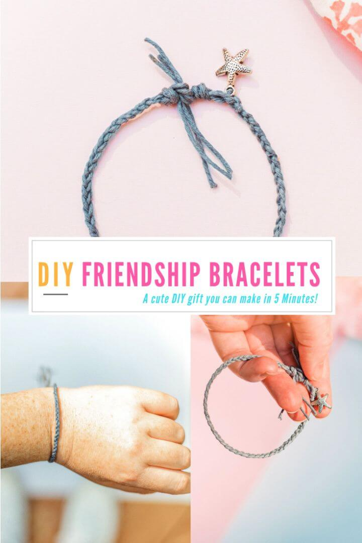 Super And Easy DIY Friendship Bracelets