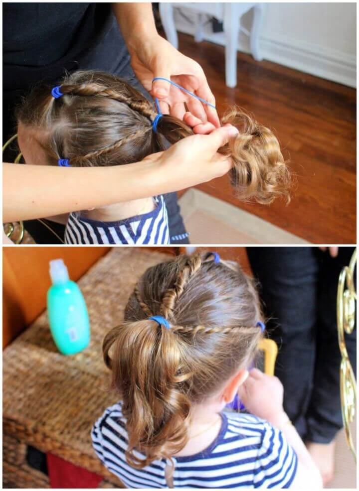 Toddler Hair Tutorial With Johnson's No More Tangles