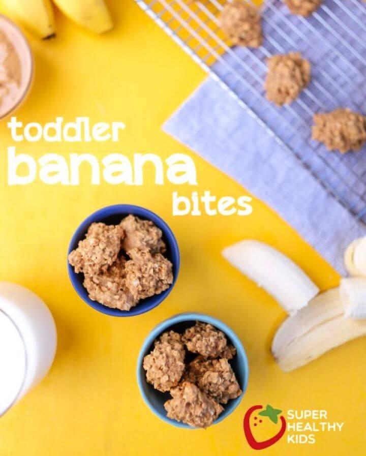 Toddler Recipe Banana Bites
