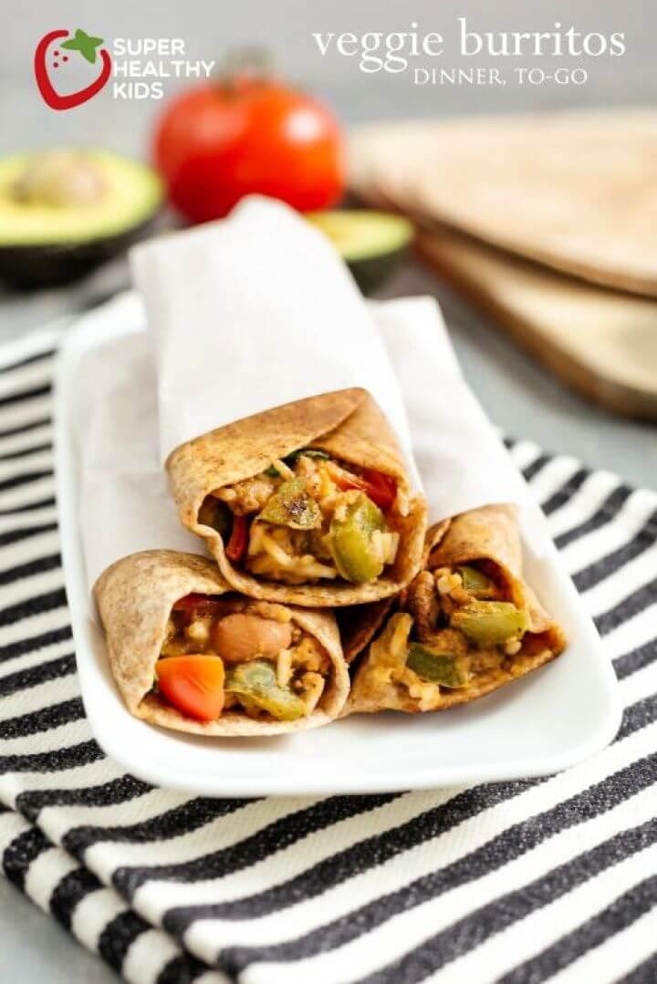 Veggie Burritos