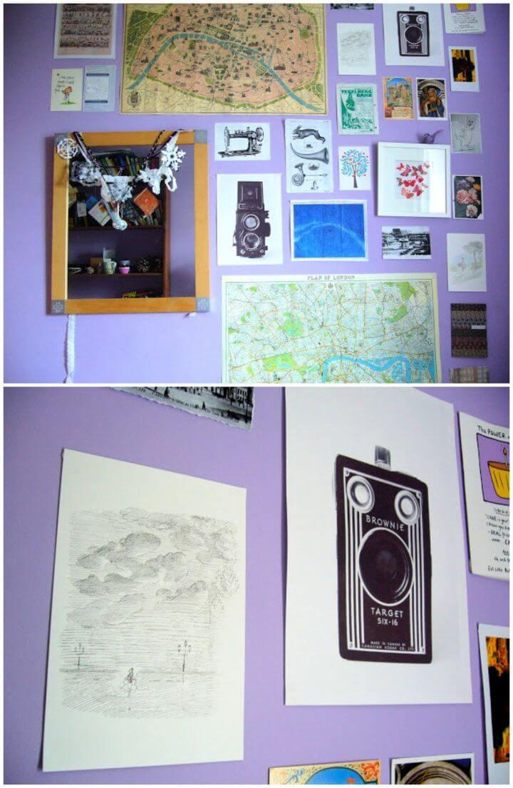 Vintage Inspiration Wall DIY