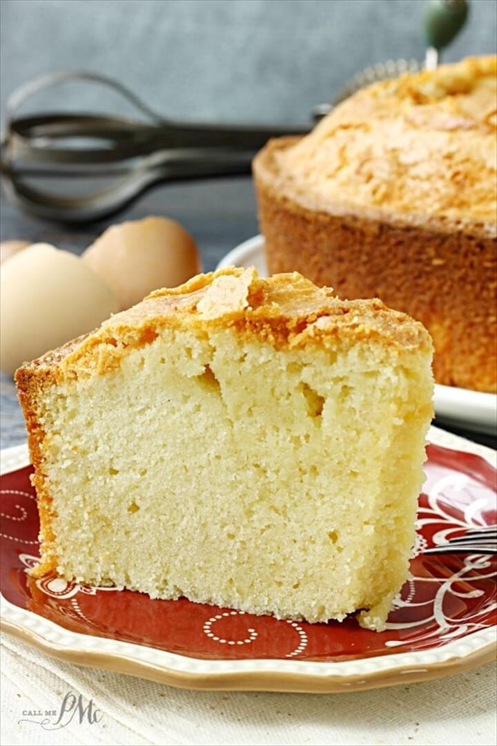 Whipping Cream Pound Cake Recipe DIY