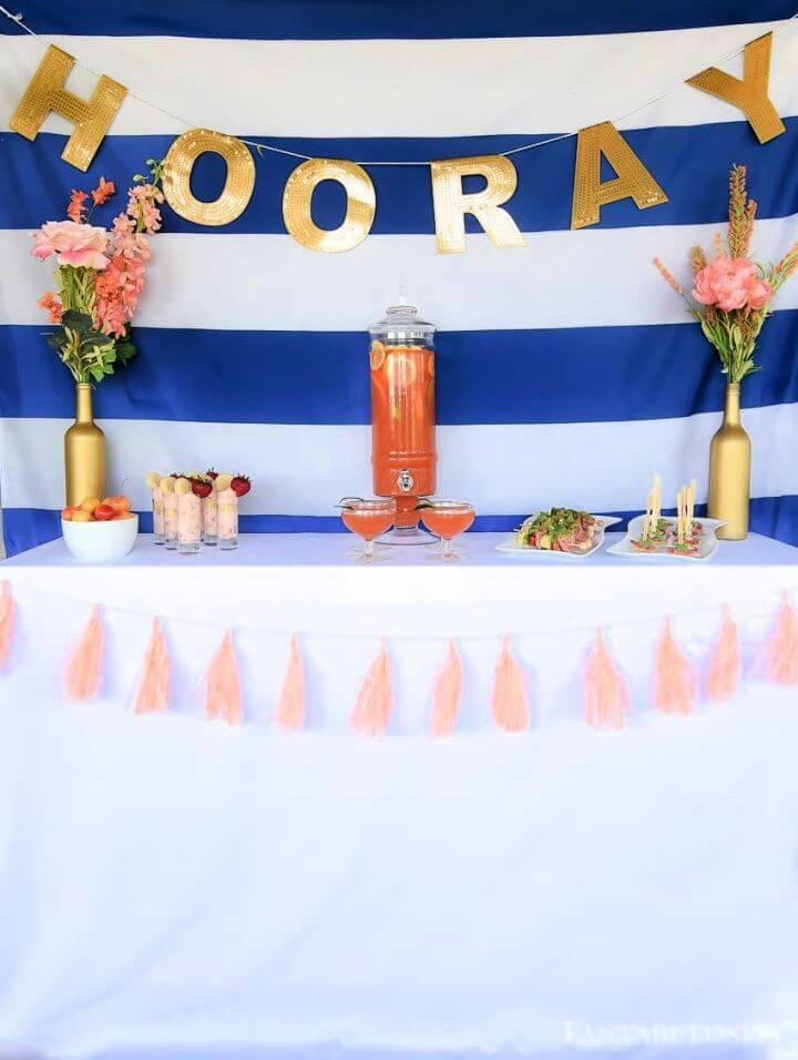 Wine Bottle Craft Vase