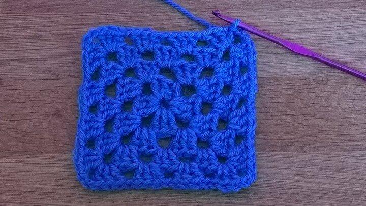Basic Granny Square Crochet Tutorial for Beginners
