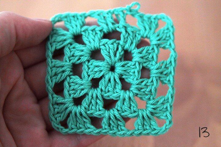 How To Crochet a Granny Square Pattern