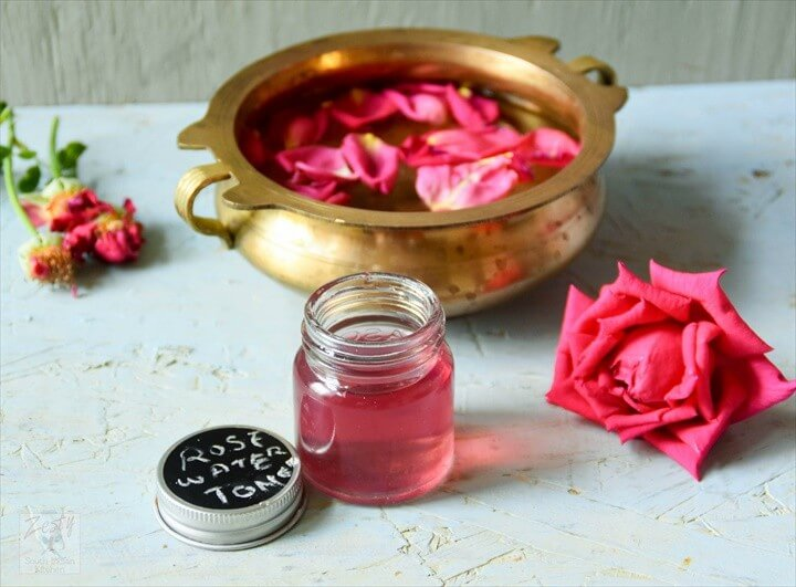 DIY Rose Water Easy ToMake Recipe