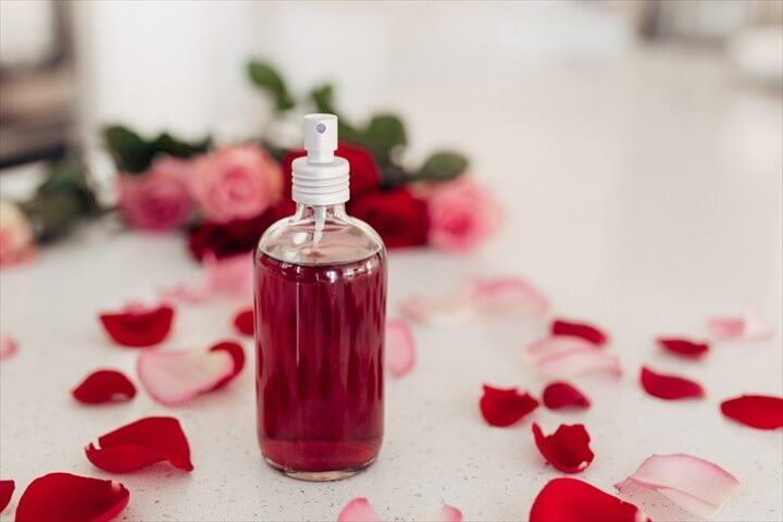DIY Rose Water Gift Idea