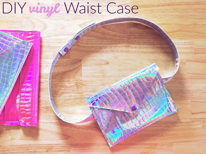 DIY Vinyl Waist Case Tutorial