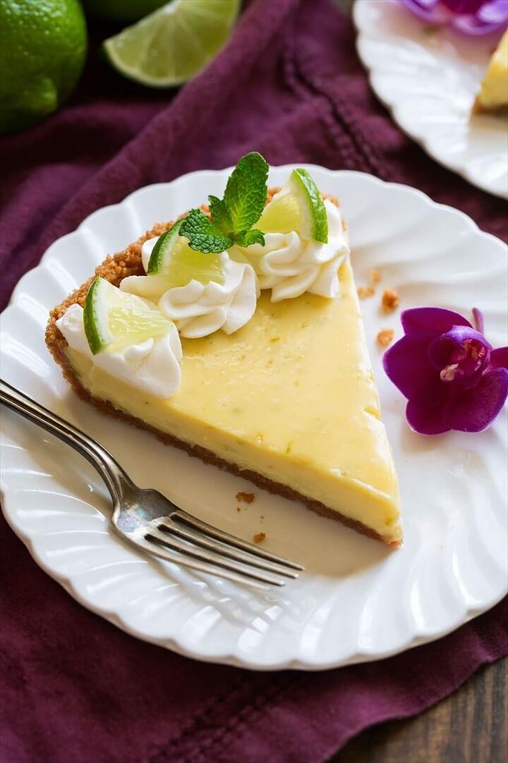 Easy Creamy Key Lime Pie