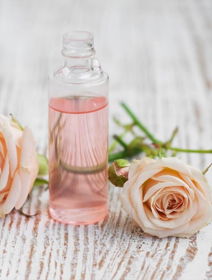diy rose water, diy rose water toner, diy rose water spray, diy rose water face mist,