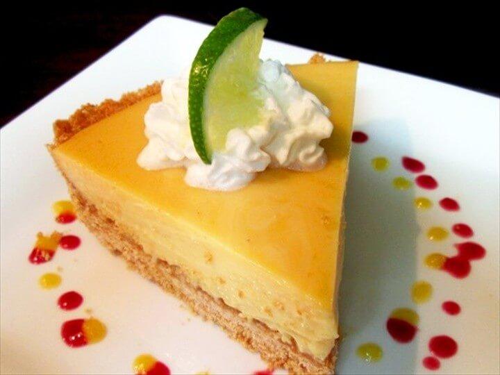 Margaritaville Key Lime Pie Dessert