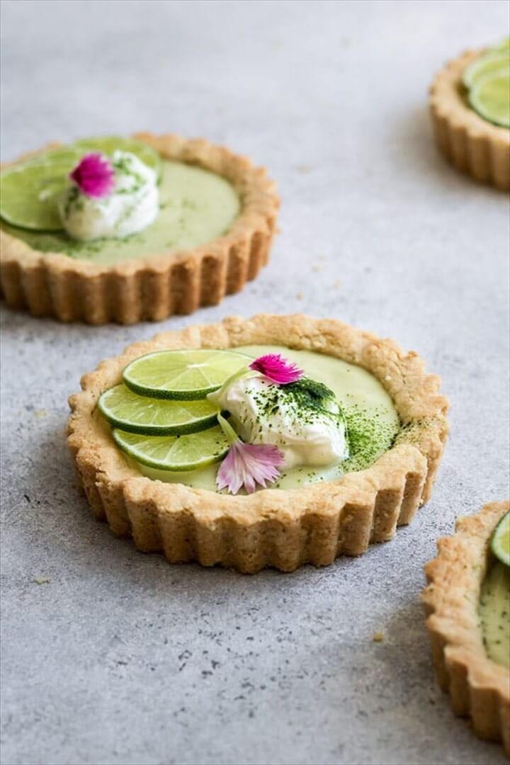 Refined Sugar Mini Vegan Key Lime Pies