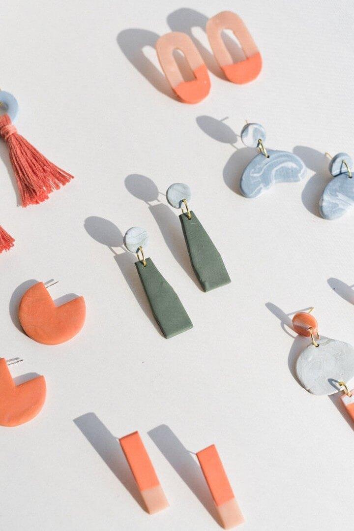 13 Diy Earrings How To Make Easy Earrings Tutorial