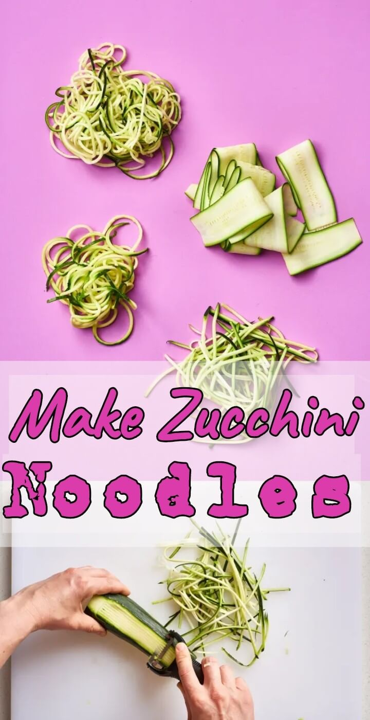 Make Zucchini Noodles