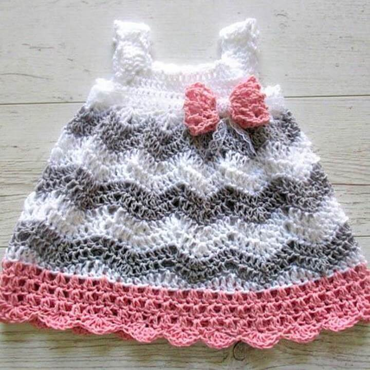 Affordable Crochet Baby Dress