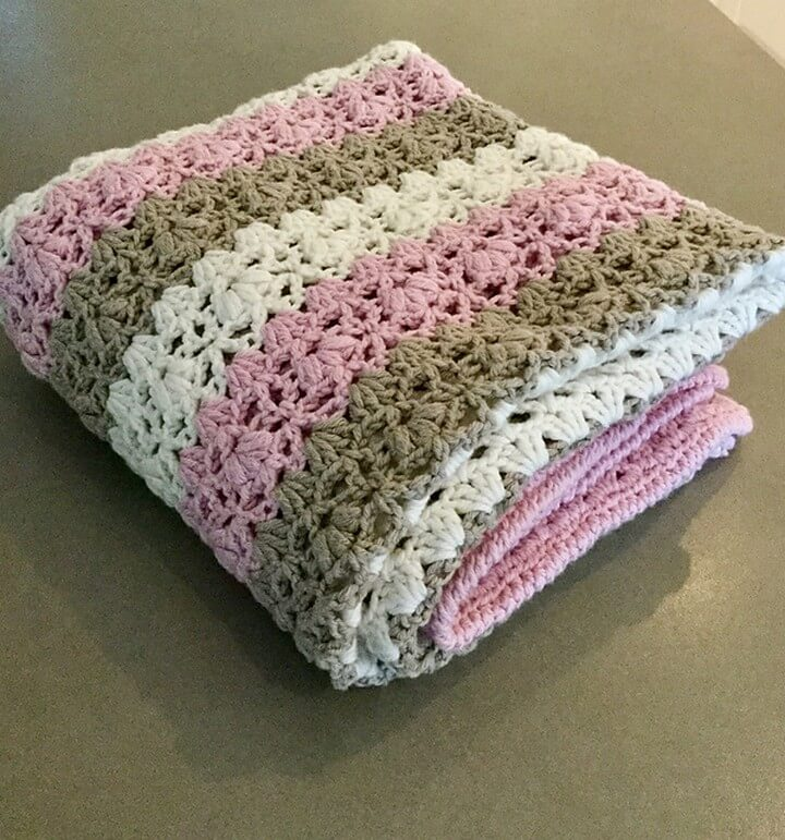 Alva Blanket Free Crochet Pattern