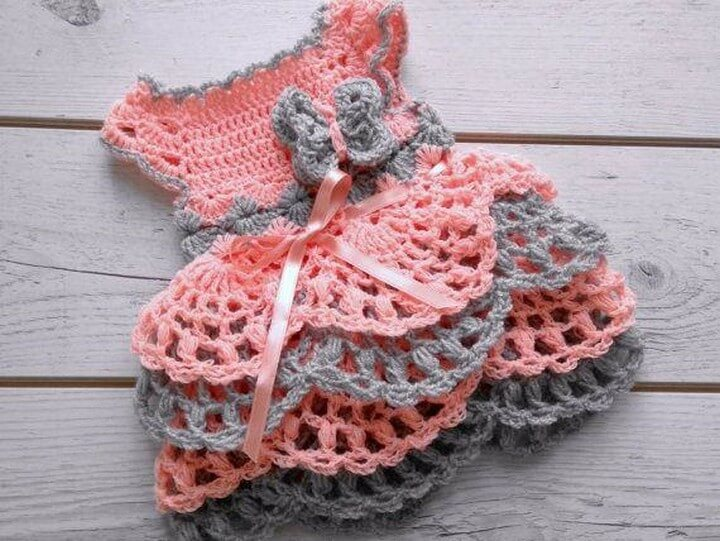 Amazing Crochet Baby Dress