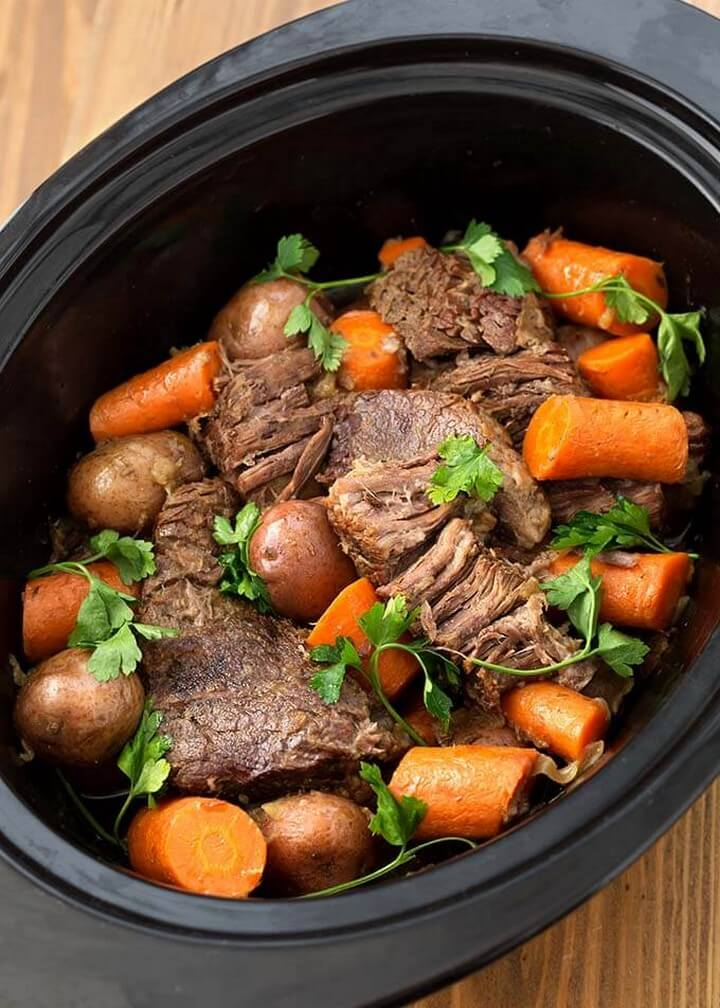 Amazing Slow Cooker Pot Roast
