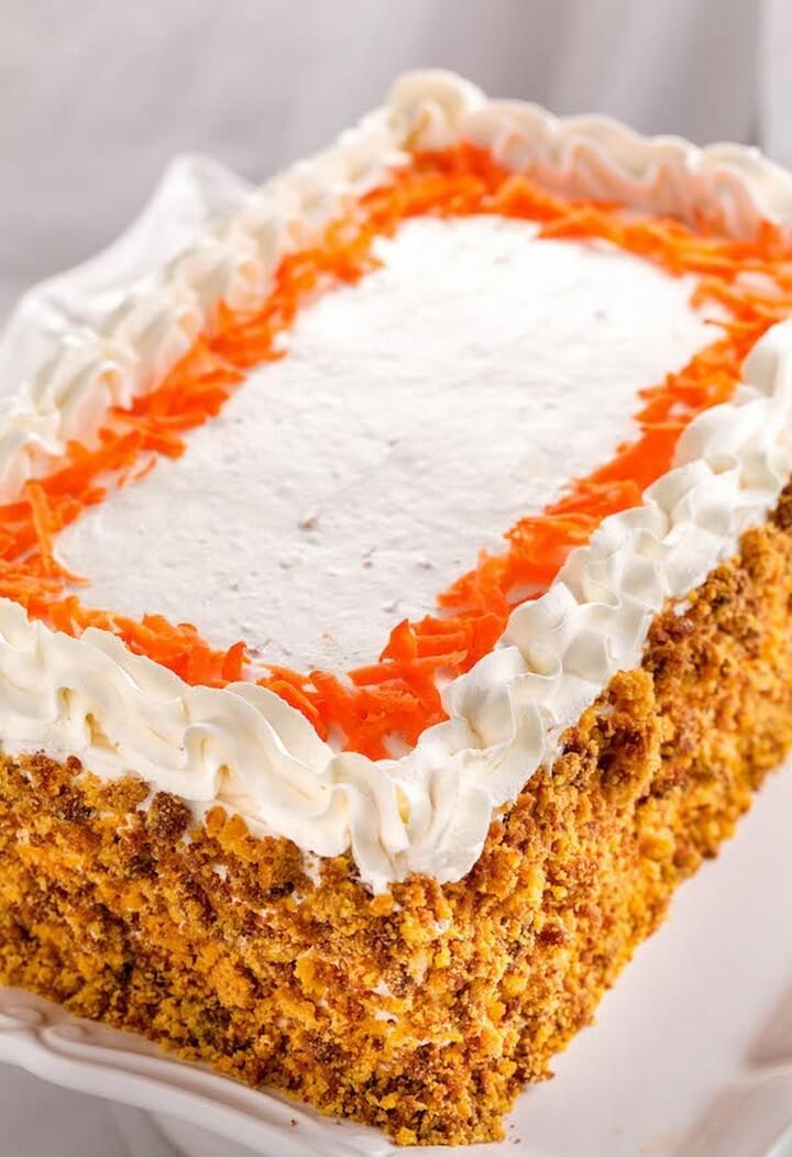 Carrot Cake Easy Blender Recipe