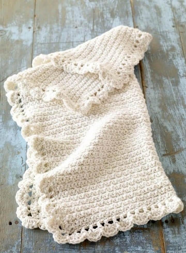 Crochet Baby Blankie Pattern