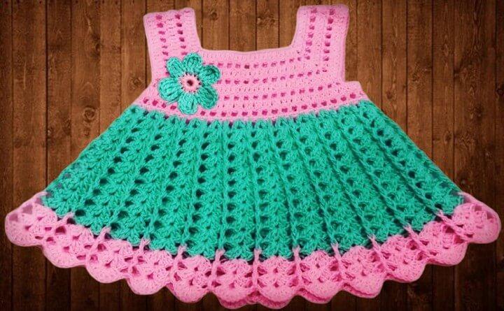 Crochet Baby Dress Crochet Pattern
