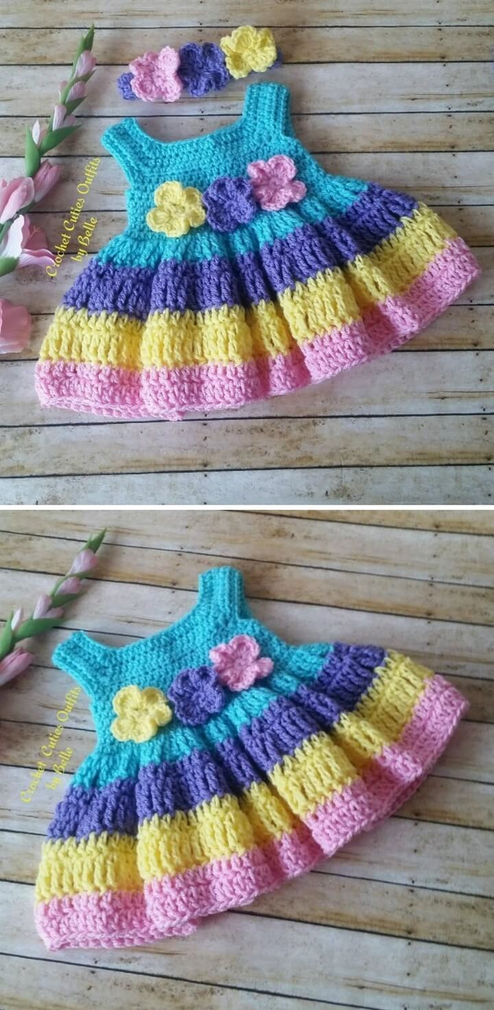 Crochet Baby Dress Ideas That You Will Love