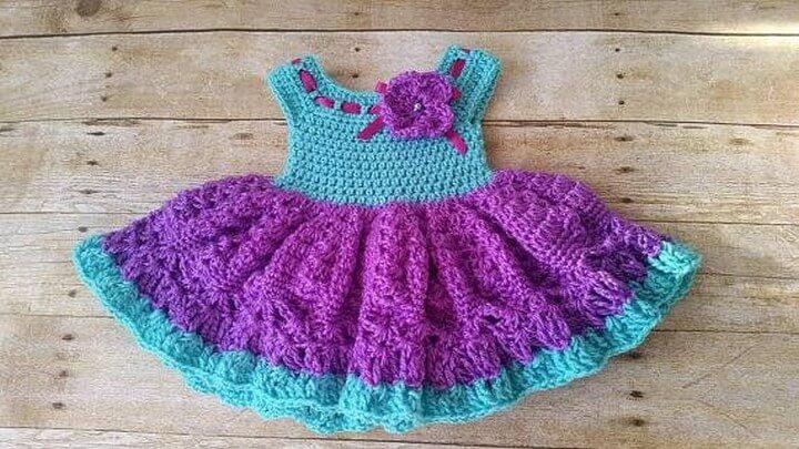 Crochet Patterns Newborn Crochet Baby Dress