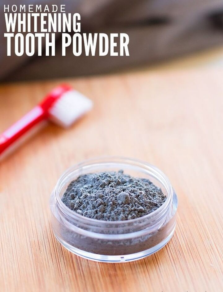 DIY Activated Charcoal Teeth Whitening Powder