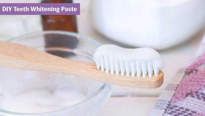 DIY Teeth Whitening Paste With In Just 3 Ingredients