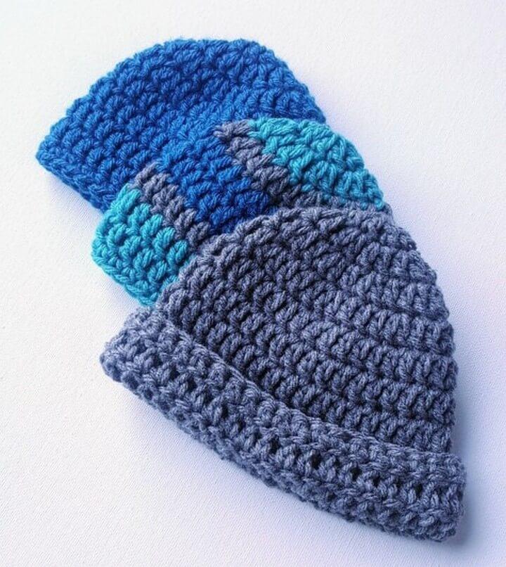 Easy Baby Crochet Hat Pattern for Beginners