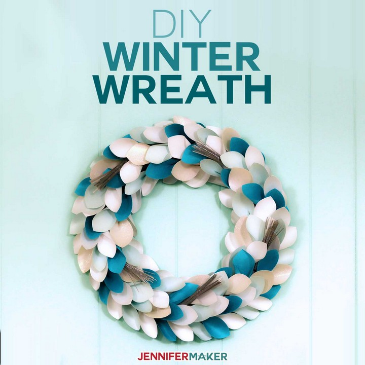 Easy To Make Winter Wreath