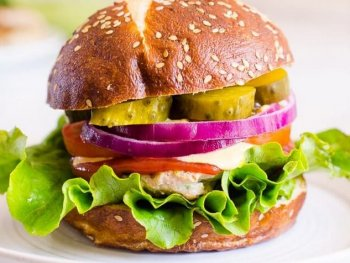 Healthy Turkey Burgers Recipe