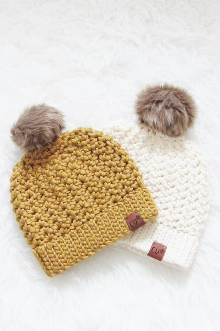 How to Crochet a Beanie Pattern