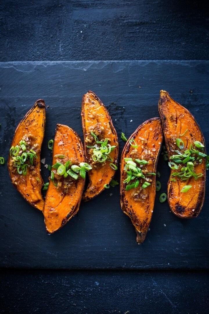 Kyoto Style Roasted Sweet Potatoes, diytomake.com