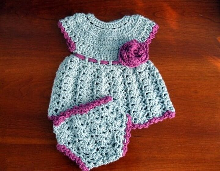Loopit Crochet Baby Dress