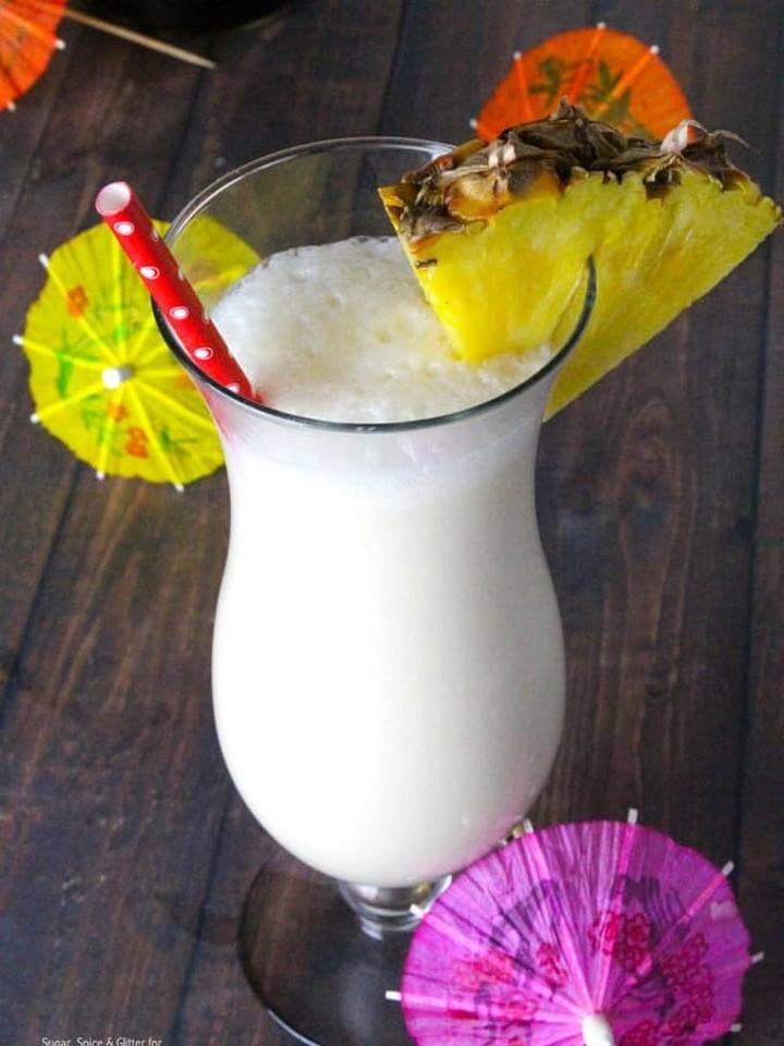 Pina Colada Recipe Idea, diytomake.com