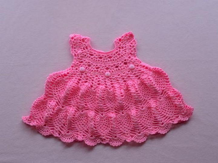 Pinky Pie Baby Dress
