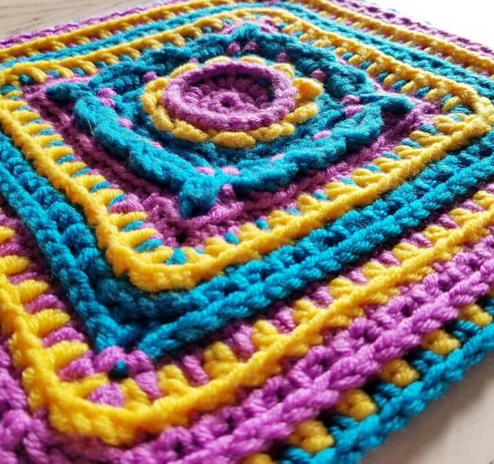Rainbow Free Crochet Pattern