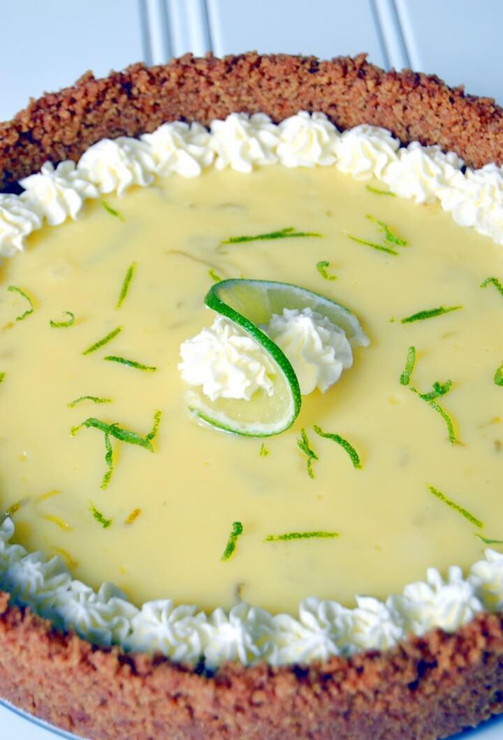 Refreshing Key Lime Pie