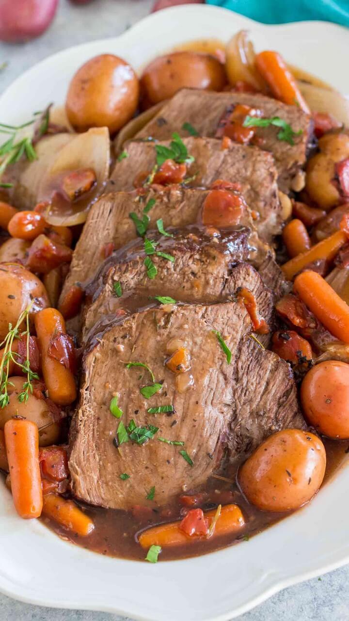 Slow Cooker Yankee Pot Roast