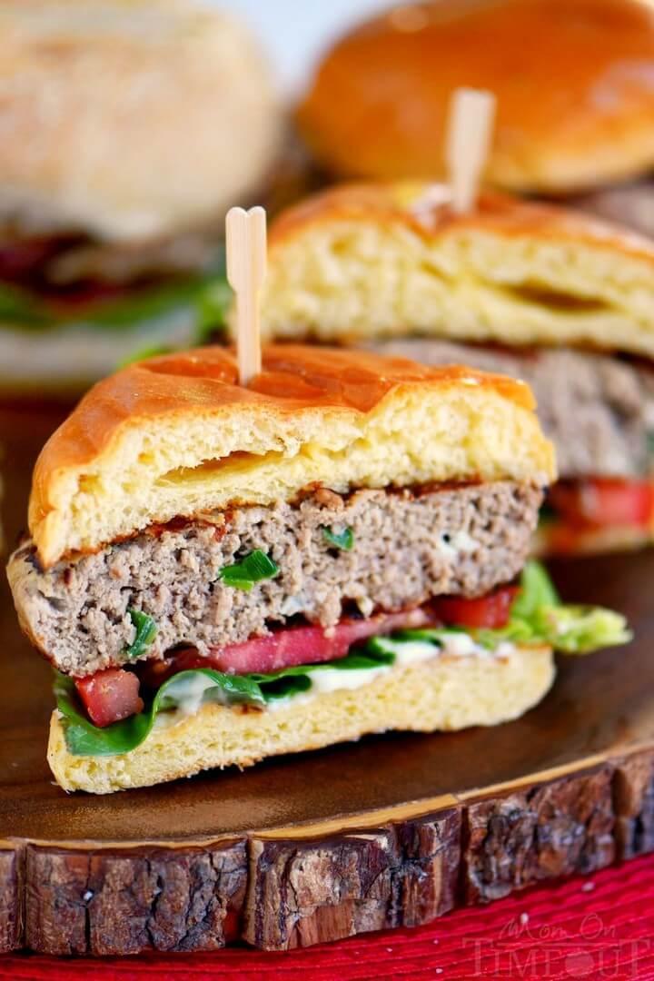 The BEST Turkey Burgers Recipe