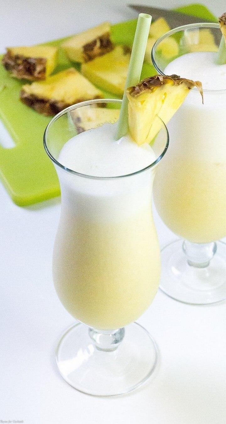 Tropical Lighter Pina Colada Recipe, diytomake.com