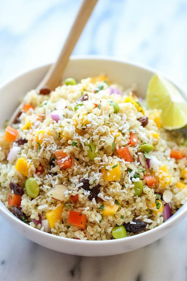 Whole Foods California Quinoa Salad, diytomake.com