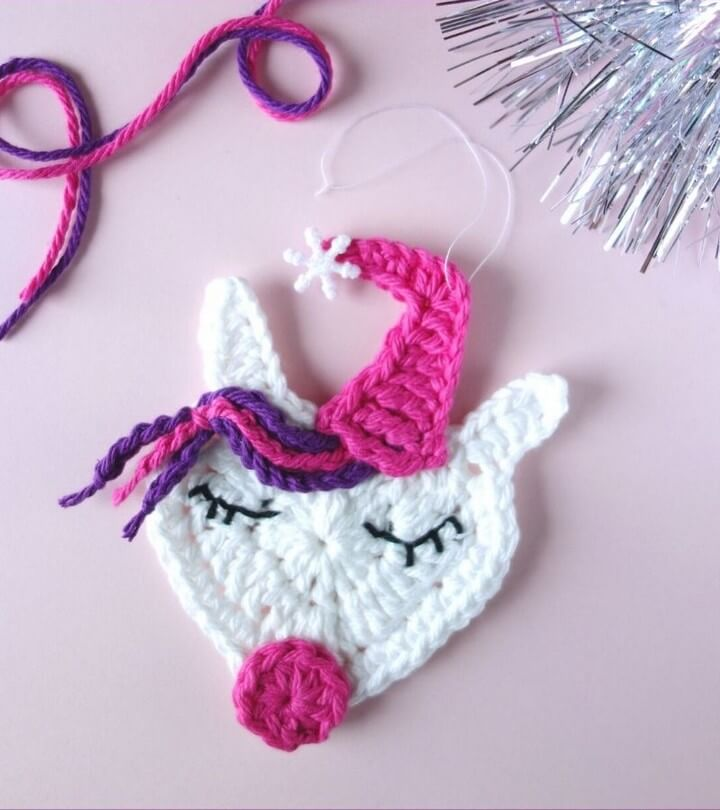 Crochet Unicorn Ornament DIY Free Crochet Pattern, crochet home decor ideas pinterest, crochet wall hanging patterns, useful things to crochet, crochet ideas, crochet basket, crochet patterns, crochet home magazine, crochet coasters, how to crochet youtube, how to crochet step by step, crocheting a blanket, crochet sport, crochet stitches, how to crochet uk, easy beginner crochet patterns, single crochet, quick and easy crochet patterns, craft and crochet youtube, cool crochet ideas, crochet ideas for beginners, crochet ideas to sell, modern crochet patterns free, free crochet, crochet patterns for blankets, diytomake.com